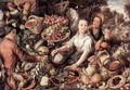 The Vegetable Market 1567 - Joachim Beuckelaer