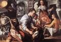 Christ in the House of Martha and Mary - Joachim Beuckelaer