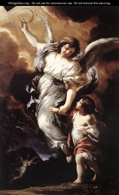 The Guardian Angel 1656 - Pietro Da Cortona (Barrettini)