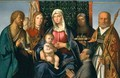 Virgin and Child with Saints and a Donor - Boccaccio Boccaccino