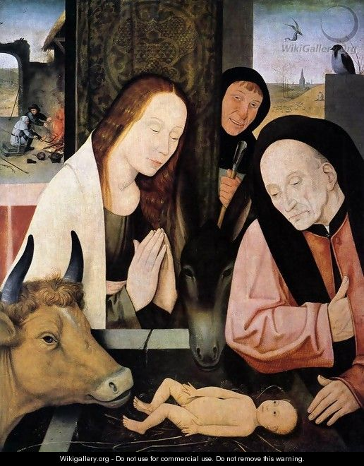 Adoration of the Child - Hieronymous Bosch
