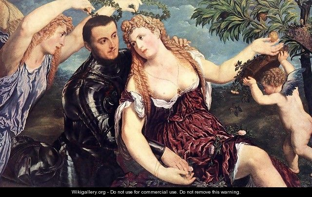 Allegory with Lovers 1550 - Paris Bordone