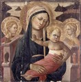 Madonna and Child Enthroned - Giovanni di ser Giovanni Guidi (see Scheggia)