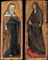 Sts Clare and Elizabeth of Hungary c. 1445 - Giovanni di Paolo