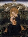 Madonna of Humility (Virgin and Child) c. 1442 - Giovanni di Paolo