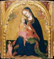 Madonna of Humility with a Donor and Angels - Giovanni Di Francia (see Zanino Di Pietro)