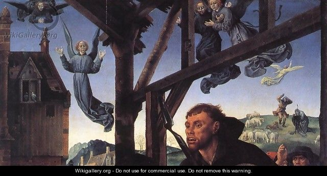 The Adoration of the Shepherds (detail 10) 1476-79 - Hugo Van Der Goes