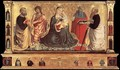 Madonna and Child with Sts John the Baptist, Peter, Jerome, and Paul 1456 - Benozzo di Lese di Sandro Gozzoli