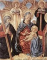 Madonna and Child between Sts Andrew and Prosper (detail) 1466 - Benozzo di Lese di Sandro Gozzoli