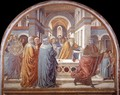 Expulsion of Joachim from the Temple 1491 - Benozzo di Lese di Sandro Gozzoli