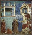 Legend of St Francis- 11. St Francis before the Sultan (Trial by Fire) 1297-1300 - Giotto Di Bondone