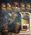 Legend of St Francis- 9. Vision of the Thrones 1297-99 - Giotto Di Bondone