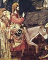 No. 26 Scenes from the Life of Christ- 10. Entry into Jerusalem (detail) 1304-06 - Giotto Di Bondone