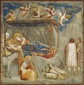 No. 17 Scenes from the Life of Christ- 1. Nativity- Birth of Jesus 1304-06 - Giotto Di Bondone