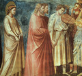 No. 12 Scenes from the Life of the Virgin- 6. Wedding Procession (detail 1) 1304-06 - Giotto Di Bondone