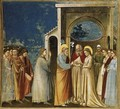 No. 11 Scenes from the Life of the Virgin- 5. Marriage of the Virgin 1304-06 - Giotto Di Bondone
