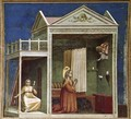 No. 3 Scenes from the Life of Joachim- 3. Annunciation to St Anne 1304-06 - Giotto Di Bondone