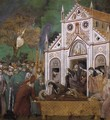 Legend of St Francis- 23. St. Francis Mourned by St. Clare 1300 - Giotto Di Bondone