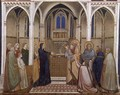 Presentation of Christ in the Temple 1310s - Giotto Di Bondone