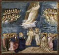No. 38 Scenes from the Life of Christ- 22. Ascension 1304-06 - Giotto Di Bondone