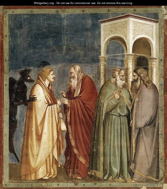 No. 28 Scenes from the Life of Christ- 12. Judas