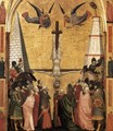 The Stefaneschi Triptych- Martyrdom of Peter c. 1330 - Giotto Di Bondone