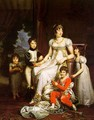 Caroline Murat and her Children 1808 - Baron Francois Gerard