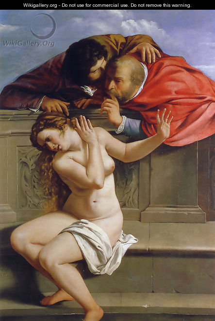 Susanna and the Elders 1610 - Artemisia Gentileschi