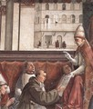 Confirmation of the Rule (detail 1) 1482-85 - Domenico Ghirlandaio