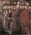 Calling of the Apostles (detail 2) 1481 - Domenico Ghirlandaio