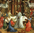 The Institution of the Eucharist 1474 - Joos van Ghent