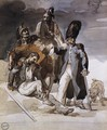 Wounded Soldiers Retrating from Russia c. 1814 - Theodore Gericault