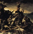 The Raft of the Medusa (detail) 1818-19 - Theodore Gericault