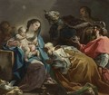 Adoration of the Magi c. 1725 - Corrado Giaquinto