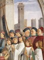 Obsequies of St Fina (detail) 1473-75 - Domenico Ghirlandaio