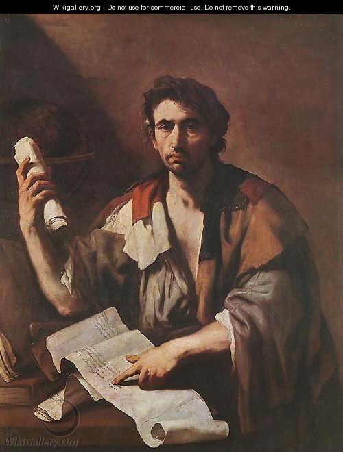 A Cynical Philospher - Luca Giordano