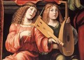 Madonna and Saints (detail) - Francesco Francia