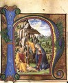 Nativity (in an Antiphonary) c. 1460 - Francesco Di Giorgio Martini