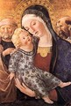 Madonna with Child and Two Saints c. 1470 - Francesco Di Giorgio Martini