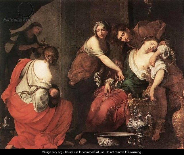 The Birth of Rachel - Francesco Furini