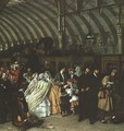 The Railway Station (detail) 1862 - William Powell Frith