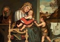 The Holy Family with the Infant St John the Baptist 1595 - Niccolo Frangipane