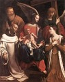 Holy Family with St Bruno and St Elisabeth - Guy Francois