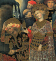 The Adoration of the Magi (detail) 1422 - Gentile Da Fabriano