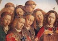 The Ghent Altarpiece- Singing Angels (detail 1) 1427-29 - Jan Van Eyck