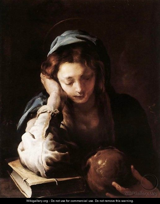 The Repentant St Mary Magdalene 1617-21 - Domenico Fetti