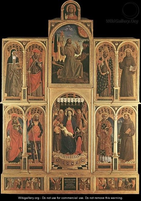Altarpiece 1476 - Vincenzo Foppa