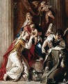 Mystic Marriage of St Catherine with St Therese - Francesco Fontebasso