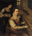 Self-Portrait at the Spinet 1577 - Lavinia Fontana