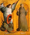 Saints Michael and Francis 1505-09 - Juan De Flandes